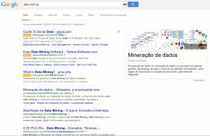 Um termo histórico, a busca por Data Mining traz muito mais resultados.